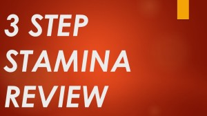 3 Step Stamina Download
