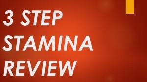 3 Step Stamina Download